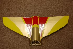Mythos 125E Small top wing Yellow