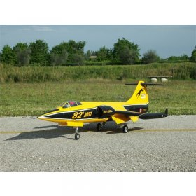 Sebart F-104 STARFIGHTER FOAM EDF RTF Yellow