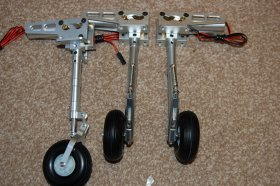 Landing Gear Mini Avanti ,L-39, 339, Hawk & PC-21 50 class