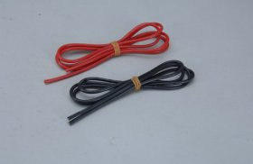 16AWG Silicone Wire - 1M Red & 1M Black