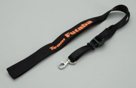 Team Futaba Neck Strap - Black & Orange