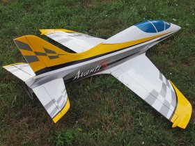 SEBART MINI AVANTI S JET YELLOW/WHITE (NO POWER SET)