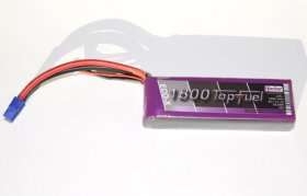 Hacker ECO-X 3 cell 25C 1800mah