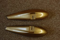 Mythos 50 Wheel pants Gold