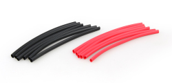 HEAT SHRINK 3 x 100mm RED/BLACK (12 PIECE)