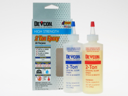 30 Minute Epoxy - 2-Ton Devcon 252g Bottle