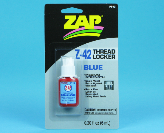 THREAD LOCK Z-42 (BLUE) 0.2oz - Click Image to Close
