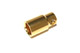 8mm Hacker female gold connector x 1 only