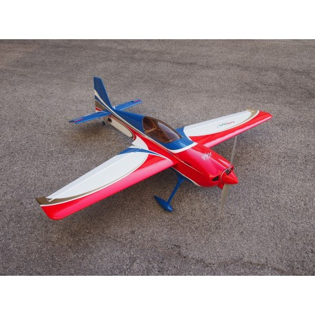 Sebart Edge 540 S 50 Blue/Red inc Carbon Landing gear - Click Image to Close