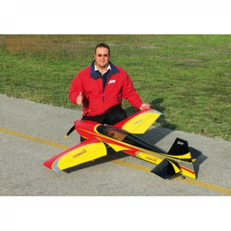 Sebart Edge 540 S 50 Yellow inc Carbon Landing gear - Click Image to Close